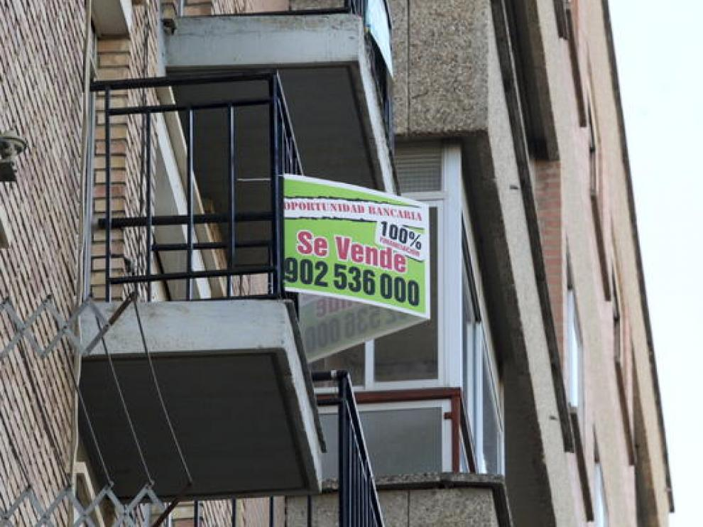 Una vivienda de propiedad bancaria a la venta