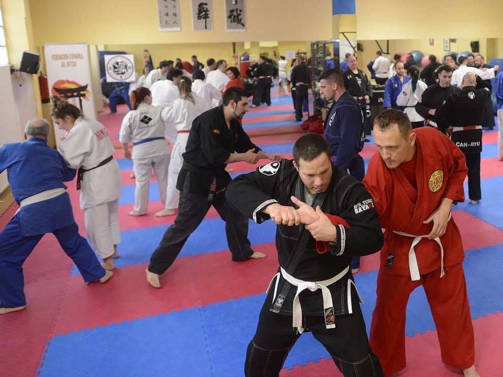 Encuentro nacional de artes marciales.