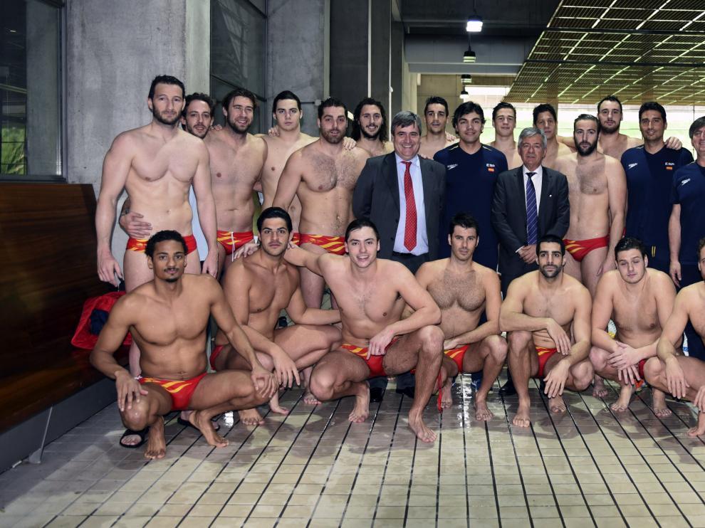 La selección masculina de waterpolo busca plaza para los Juegos