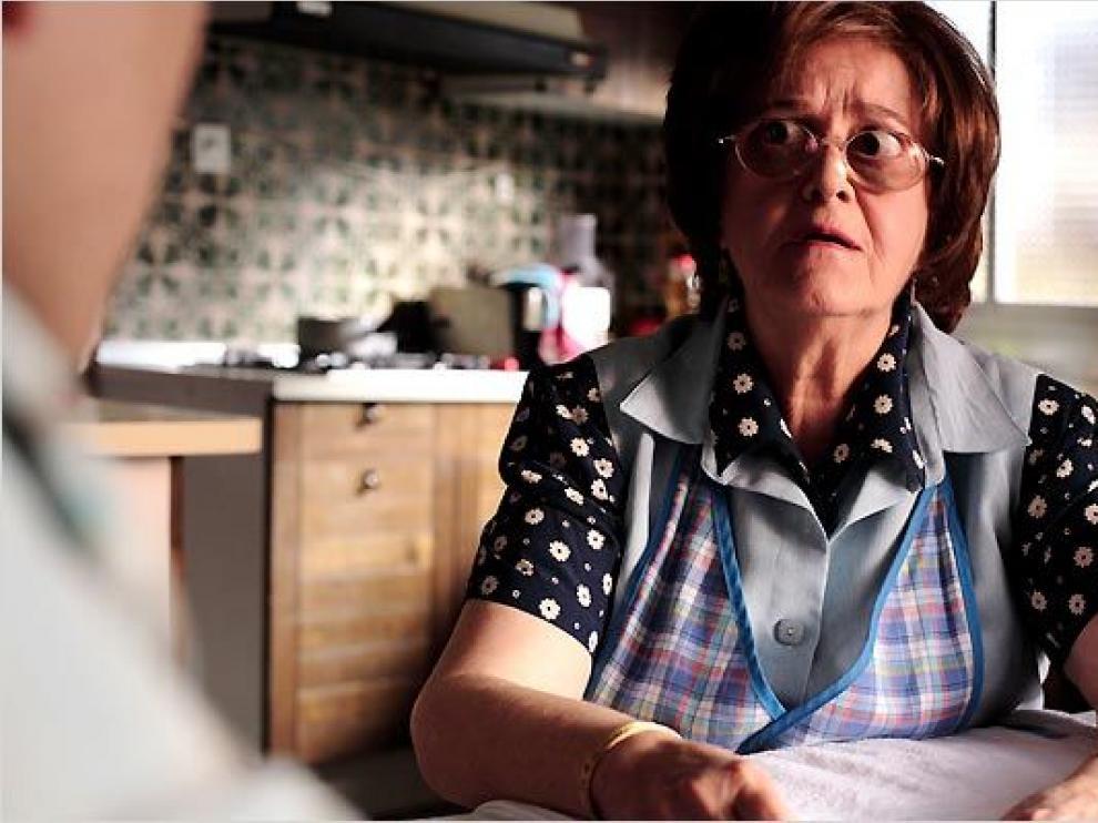 Chus Lampreave, en 'Fuera de carta' (2008)