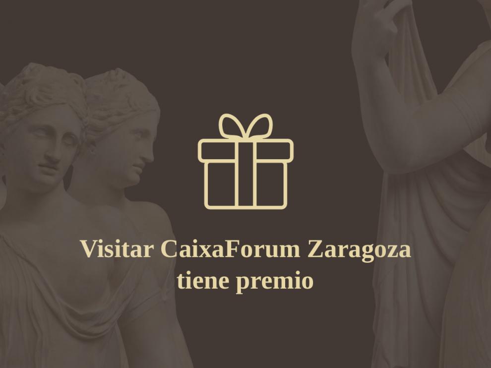 """Sube tu foto de CaixaForum Zaragoza y consigue una entrada gratis para la exposición """"Mujeres de Roma""""."""