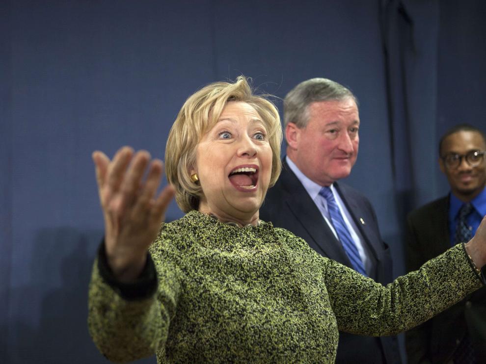 Hillary Clinton, el miércoles en Filadelfia.