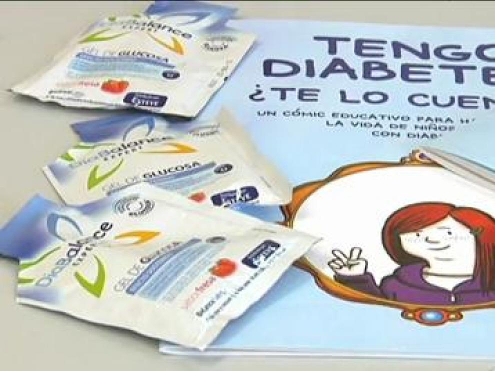 Imagen de archivo de una campaña de la OMS para dar a conocer la diabetes.