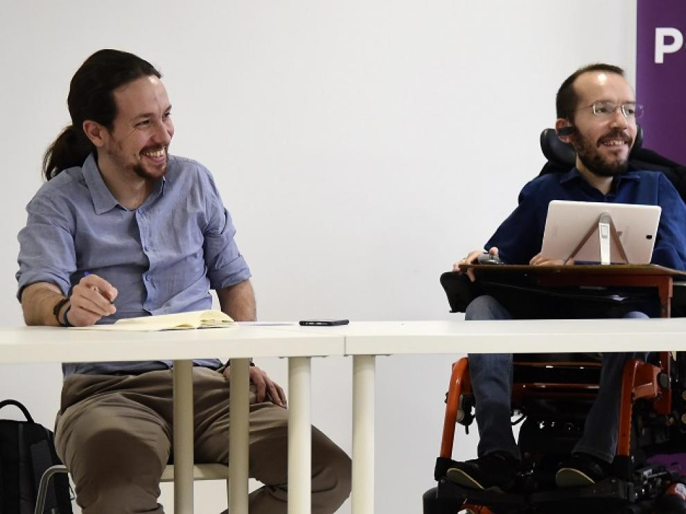 Pablo Iglesias y Echenique.