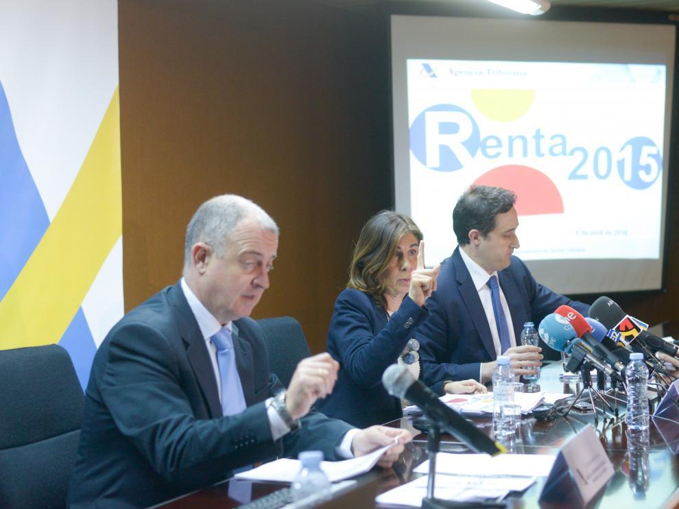 Presentación de la campaña de la Renta en Aragón.