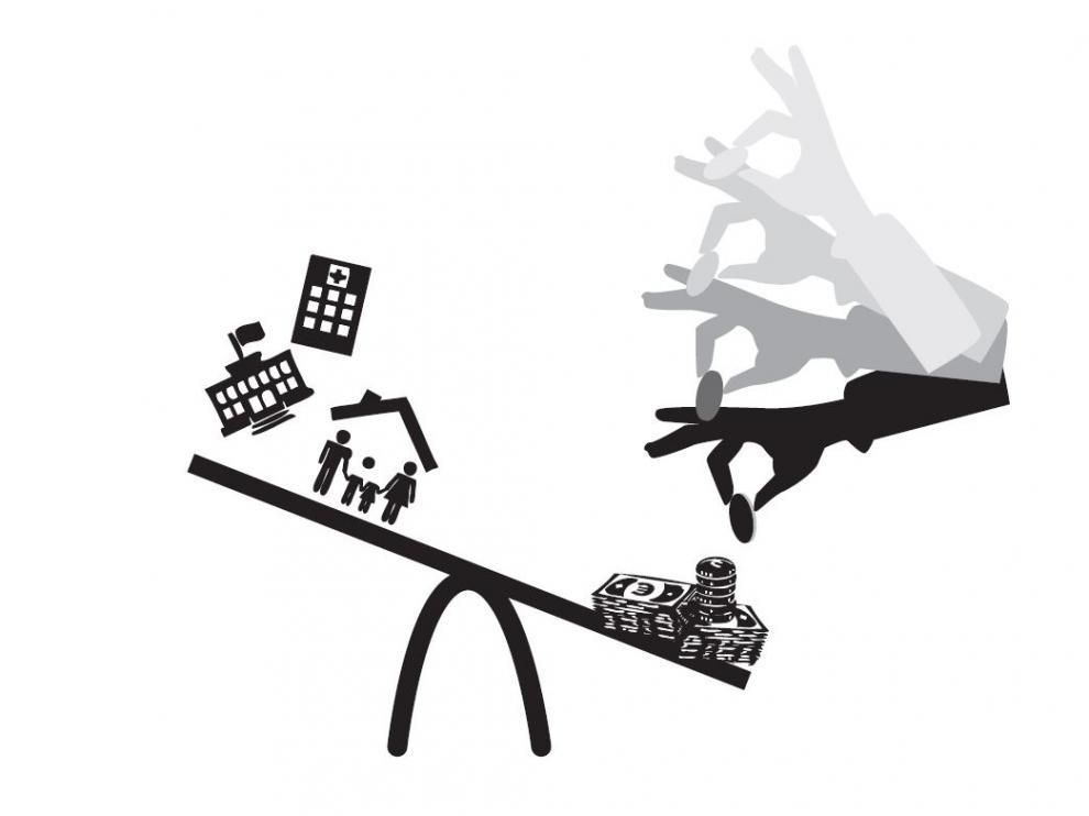 El déficit deja en el aire el aumento del gasto social