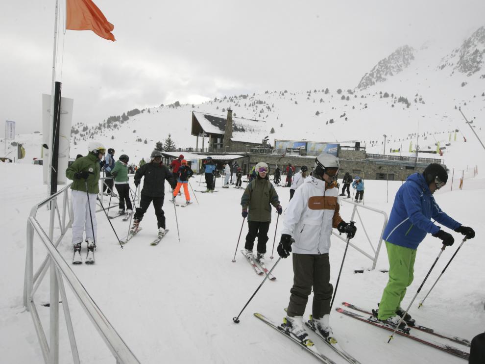 La estación de esquí de Formigal.
