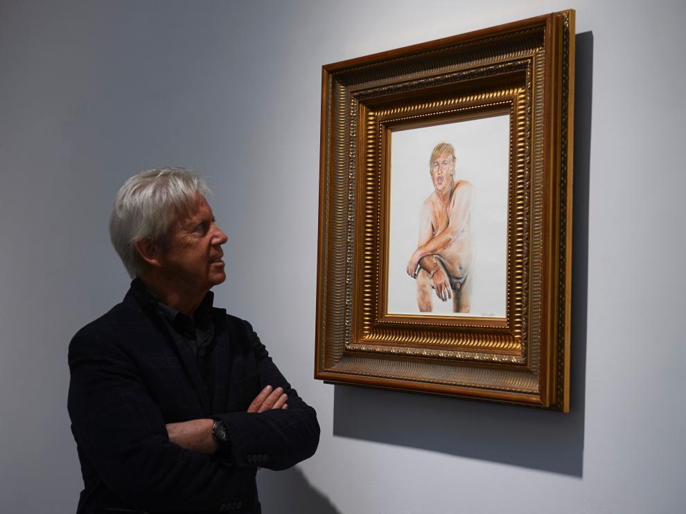 El desnudo artístico de Donald Trump que nadie quiere