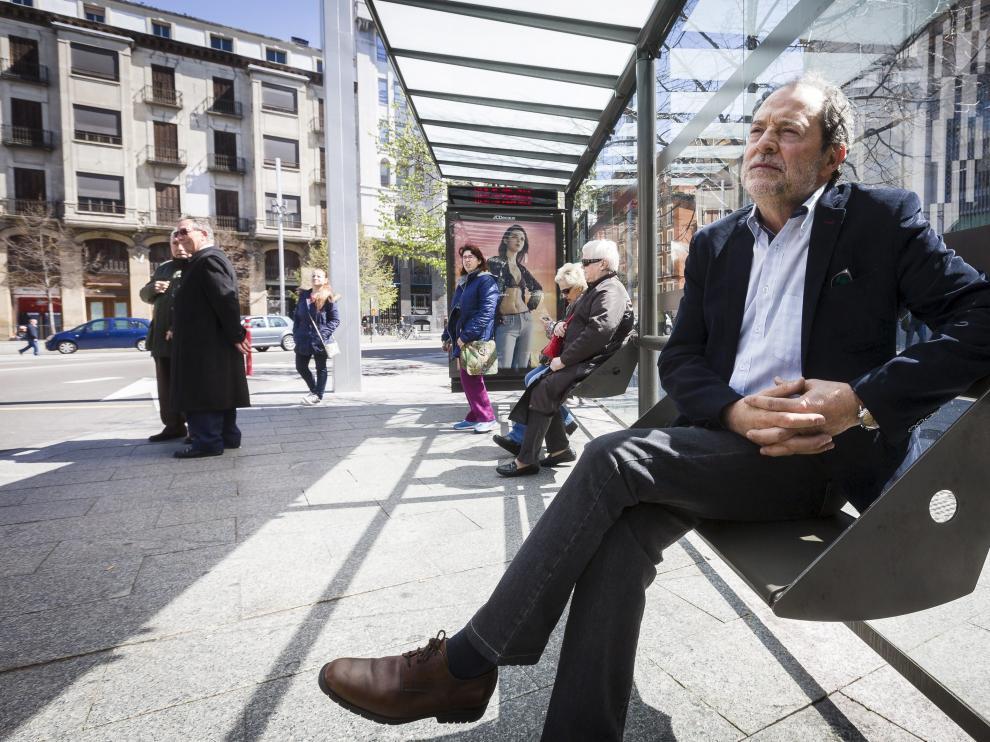 Juan García Blasco, interlocutor municipal en la huelga.