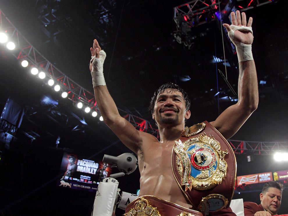 Manny Pacquiao, en una imagen de archivo