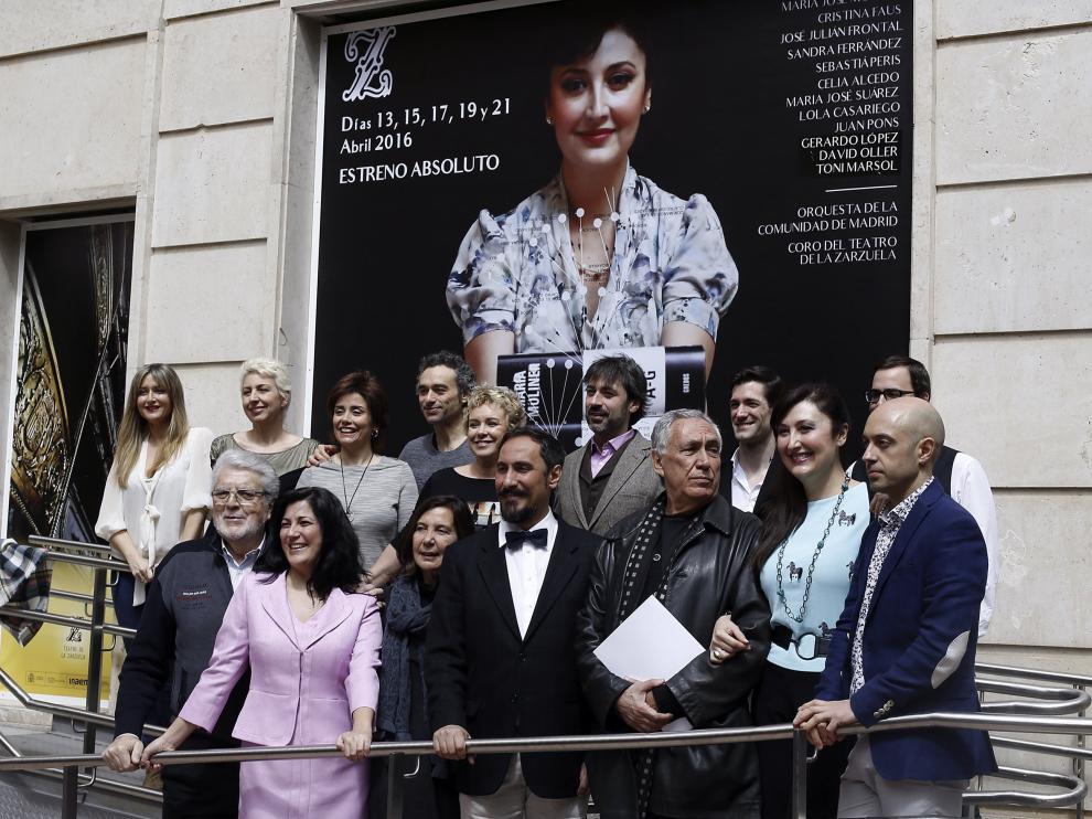 Presentación de la ópera de María Moliner