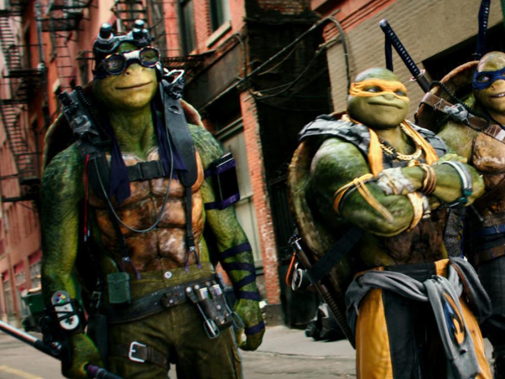 """""""Las Tortugas Ninja: Fuera de las Sombras"""", este verano en cines."""