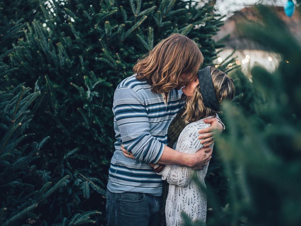 El beso es el gesto de cariño más utilizado entre las personas.