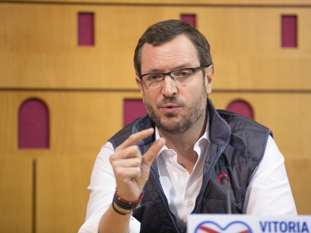 El vicesecretario de Acción Sectorial del PP, Javier Maroto.