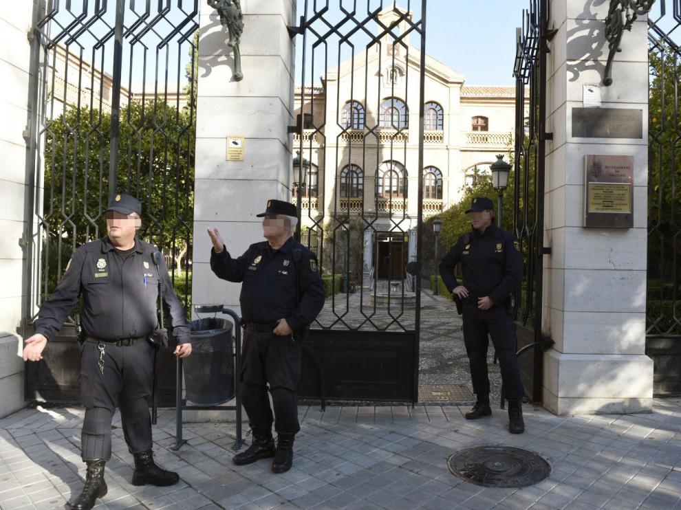 Registros en el Ayuntamiento de Granada