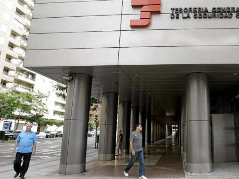 Tesorería de la Seguridad Social en Zaragoza