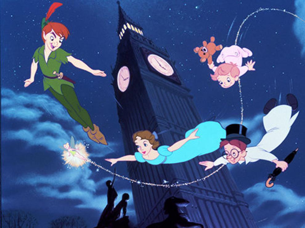 ?Disney ya tiene una versión animada de Peter Pan.