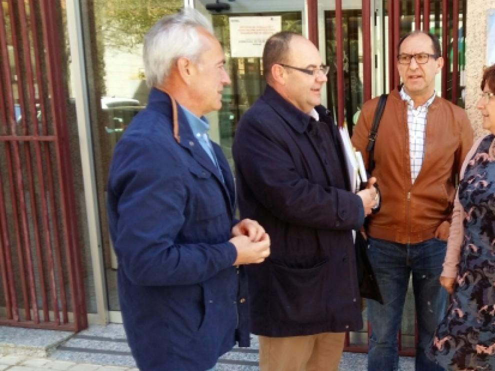 María Victoria Broto visita los servicios del IASS en Teruel