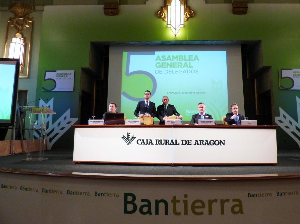 V Asamblea General de Socios de Bantierra celebrada a lo largo de este viernes.