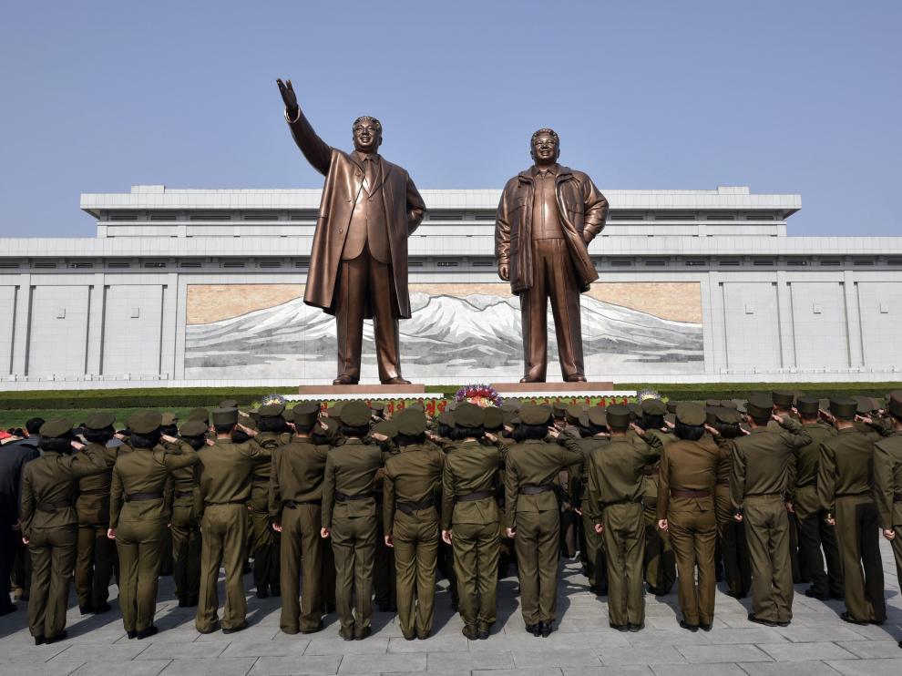 104 aniversario del nacimiento del fundador del país, Kim Il-sung.