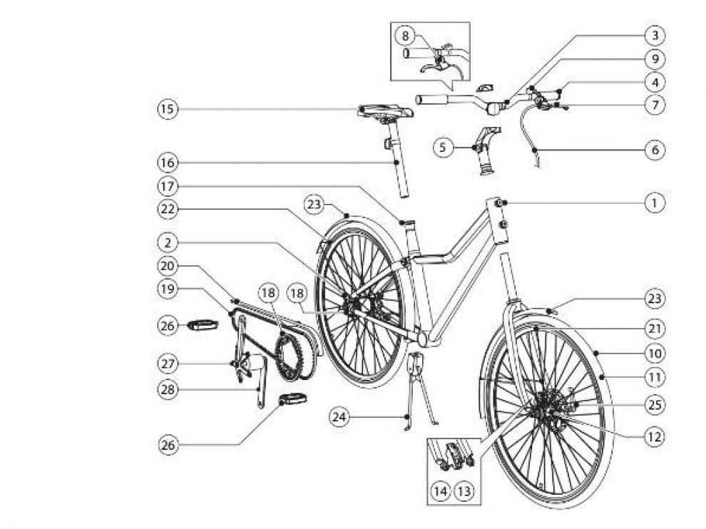 Manual de montaje de la bicicleta