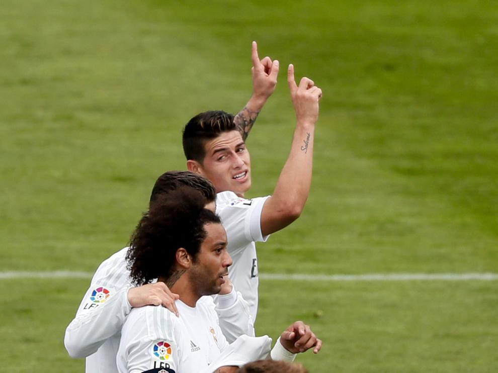 Foto de archivo de jugadores del Real Madrid