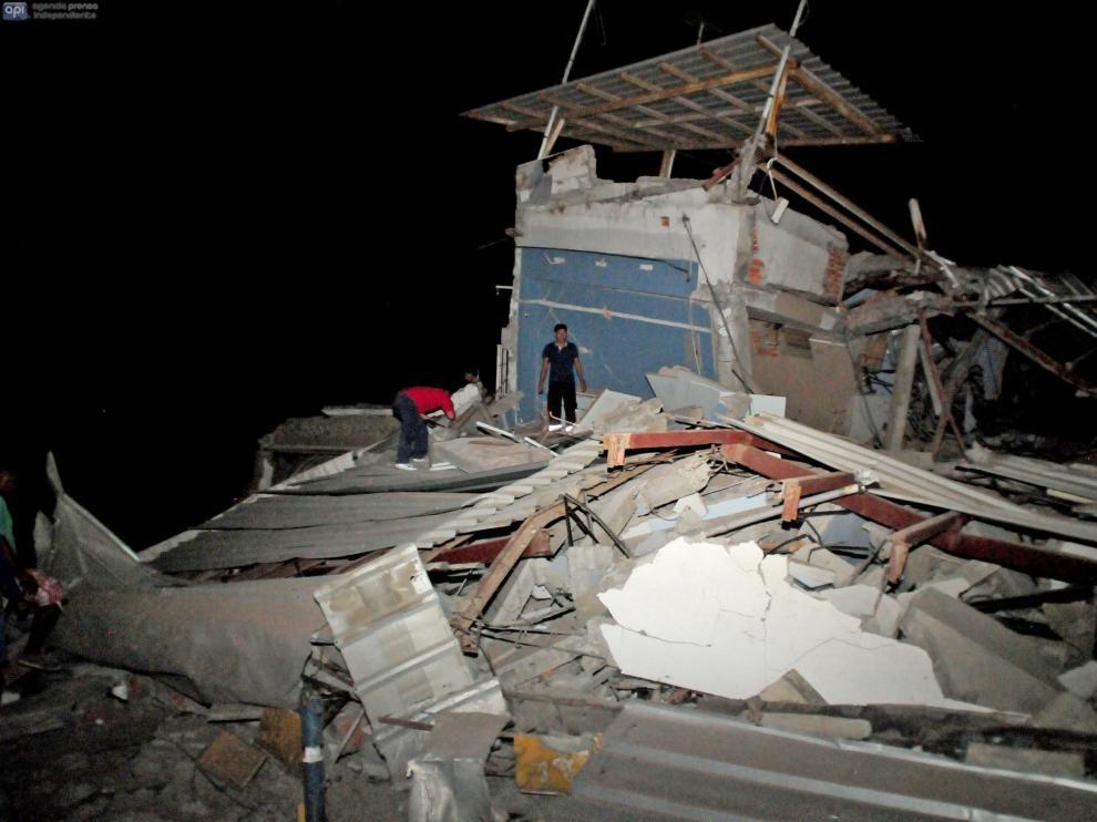 Un terremoto sacude la costa norte de Ecuador