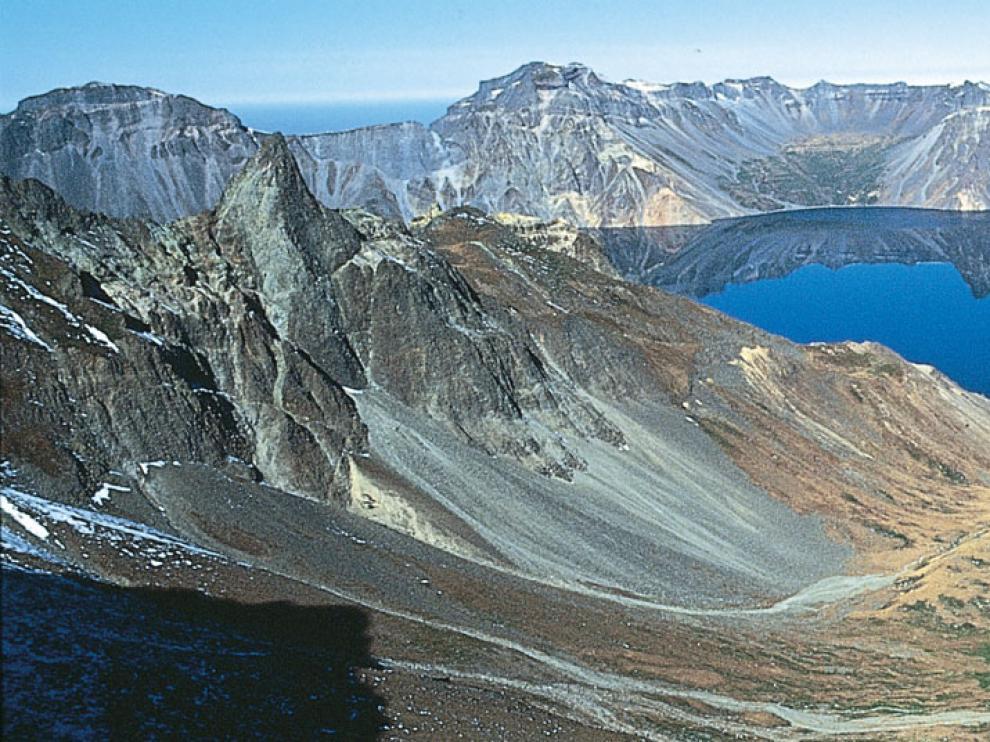 Estudio del volcán Paektu