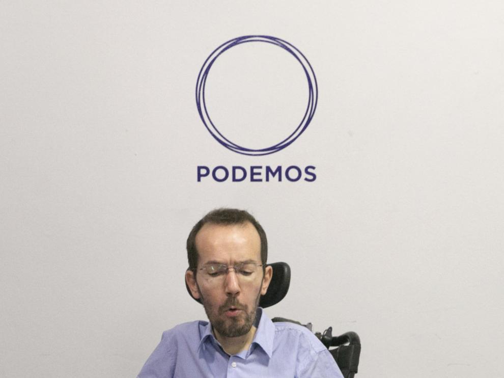 Pablo Echenique, este lunes.