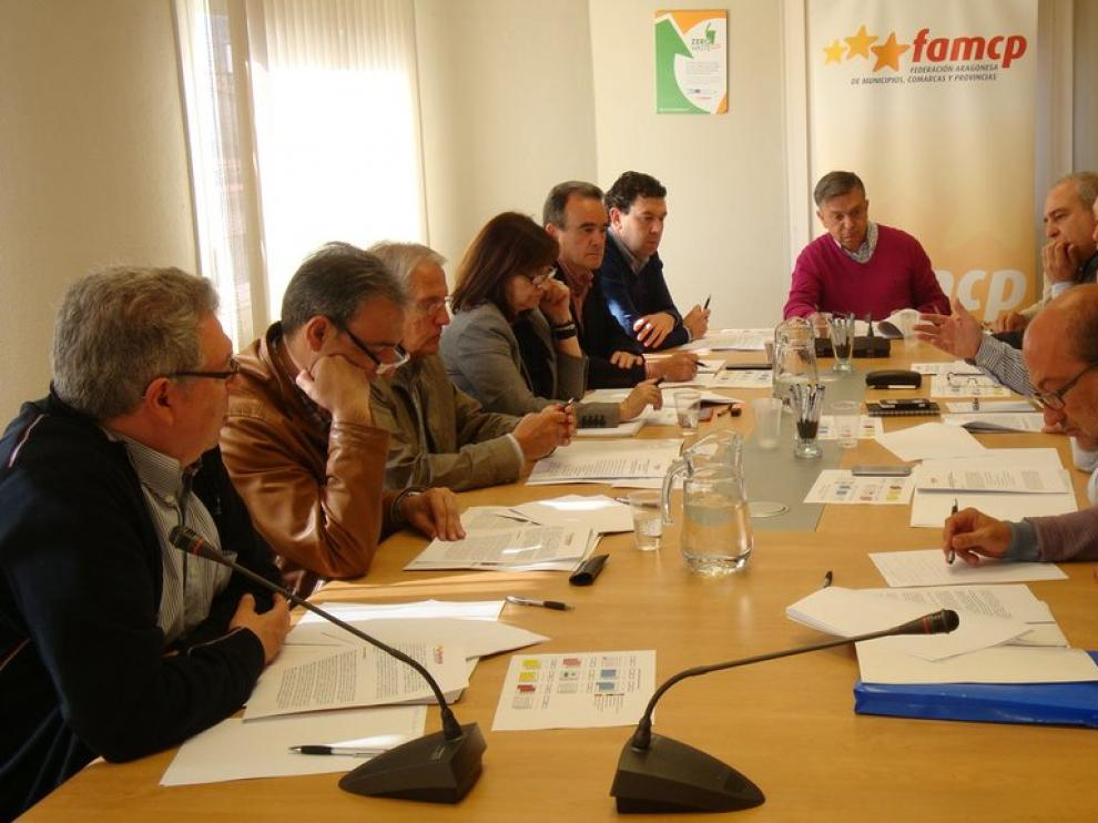 Reunión de la Famcp, en una imagen de archivo