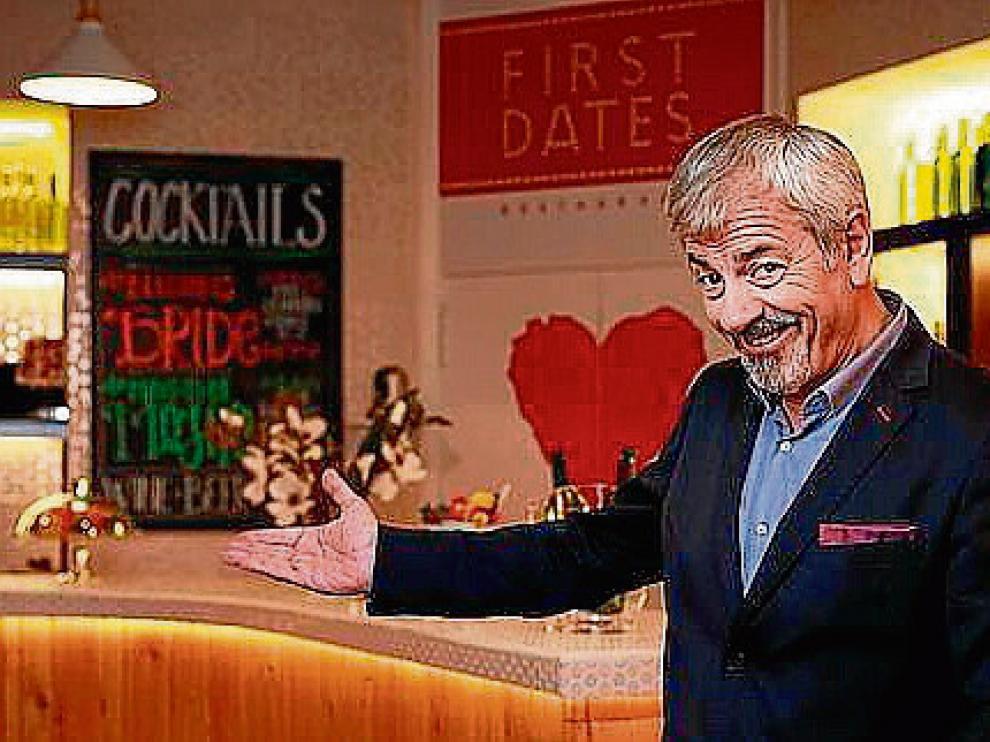El presentador de 'First Dates', Carlos Sobera