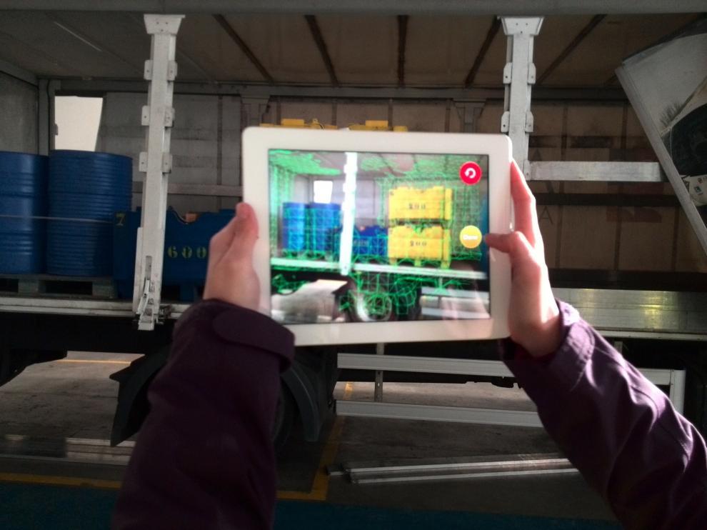 Una app que facilita las tareas de distribución de la carga dentro del vehículo.