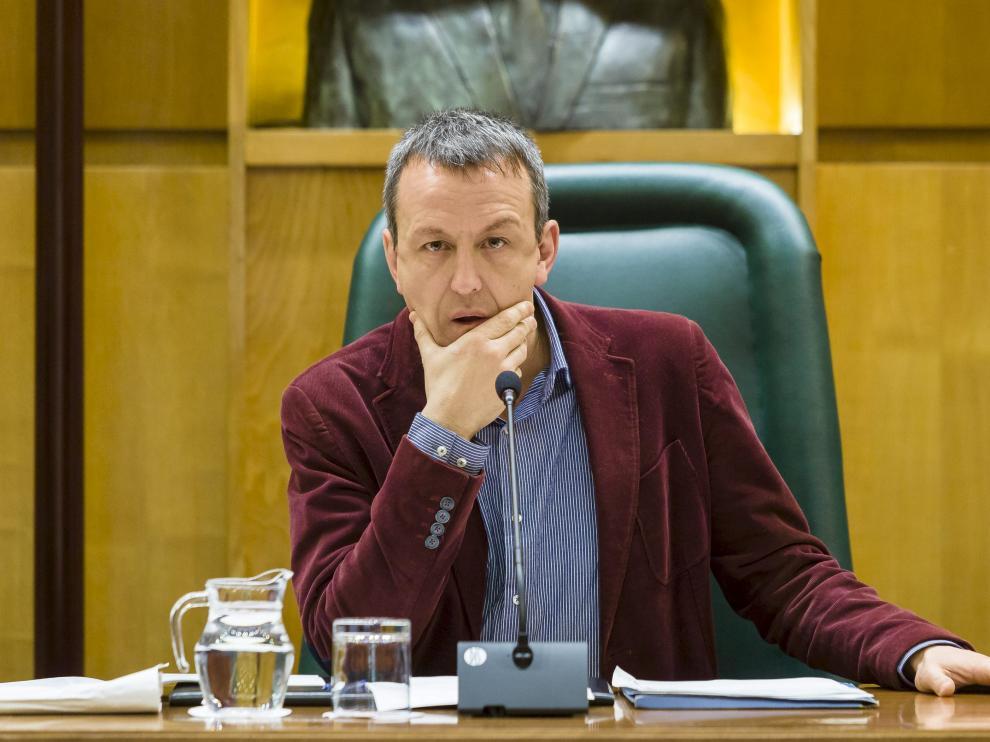 El concejal de Cultura del Ayuntamiento de Zaragoza, Fernando Rivarés.
