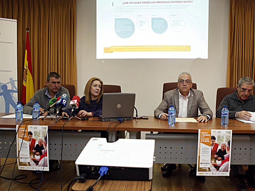 Integrantes de las distintas ONG sorianas han hecho un llamamiento para marcar la 'X Solidaria'.