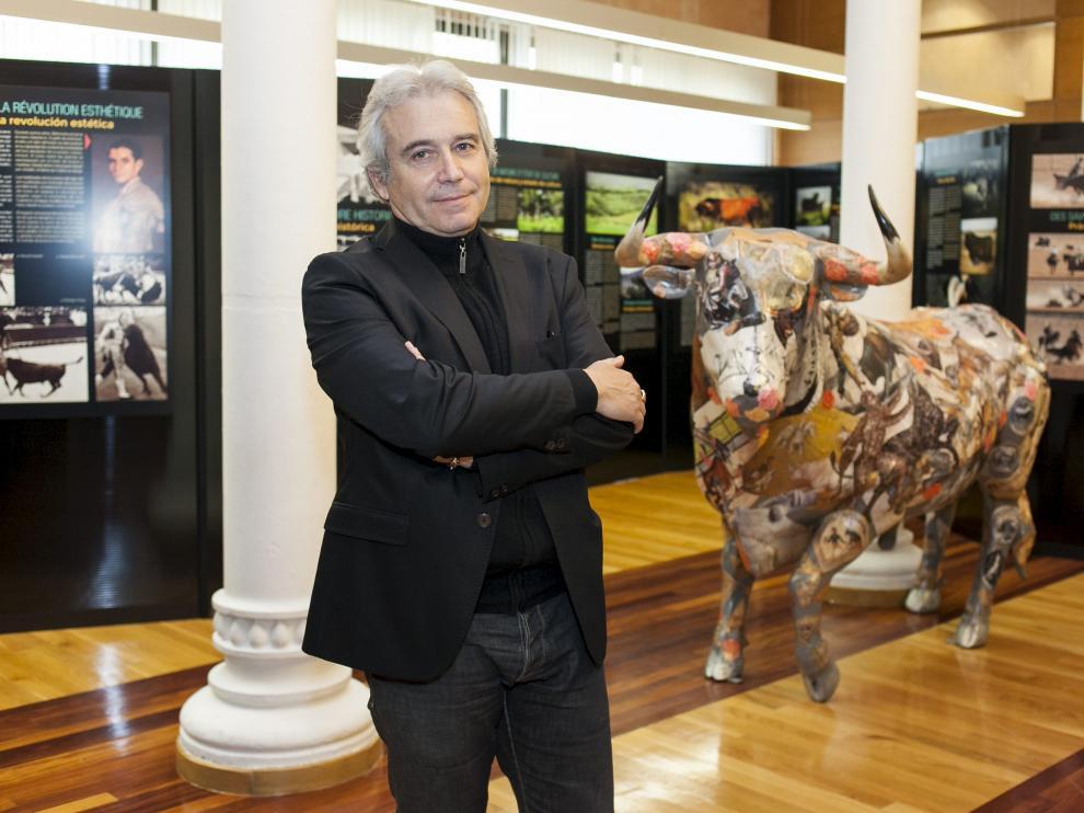 André Viard, en el Museo de las Tauromaquias Universales.