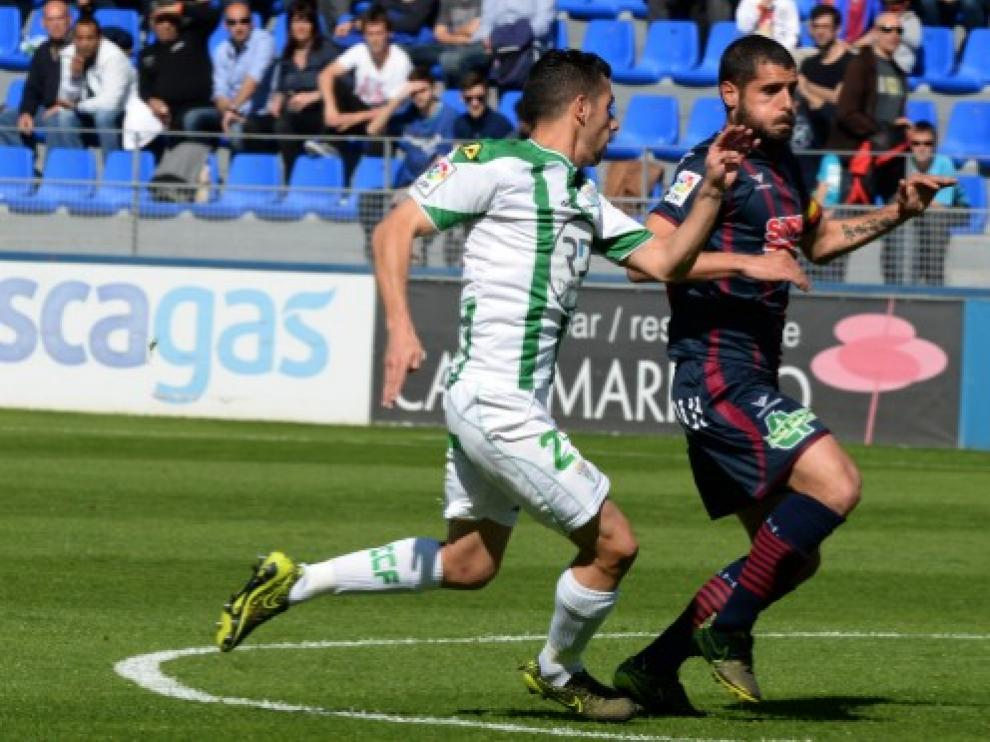 Último partido del SD Huesca ante el Córdoba.