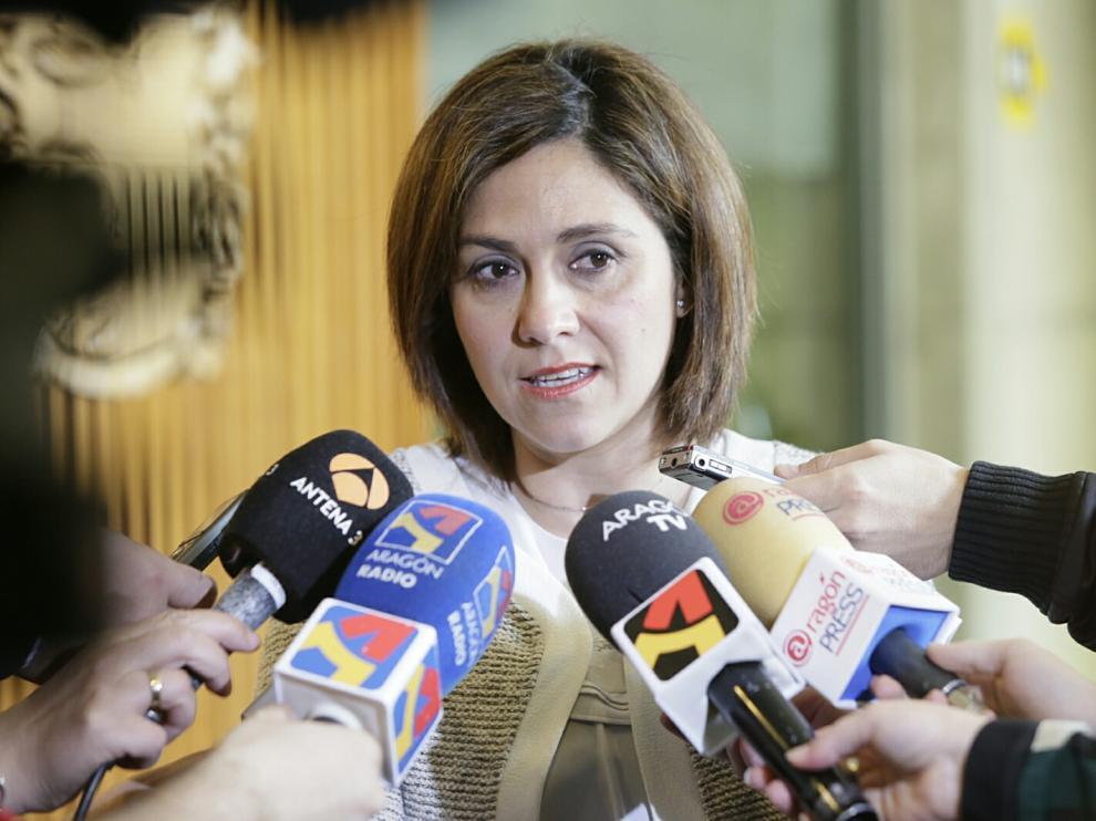 Susana Gaspar, líder del Ciudadanos Aragón