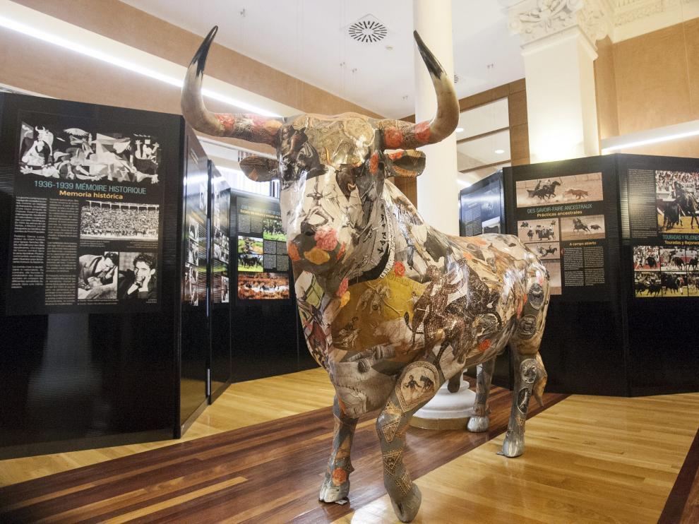 El Museo de las Tauromaquias Universales fue inaugurado este martes en el Palacio de Sástago.