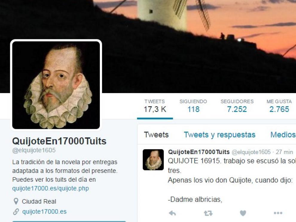 La cuenta tiene más de 7.000 seguidores.