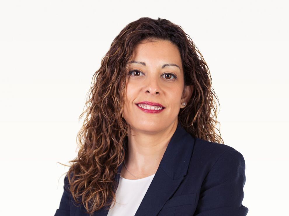 Desirée Pescador Salueña, diputada de Ciudadanos en las Cortes de Aragón.