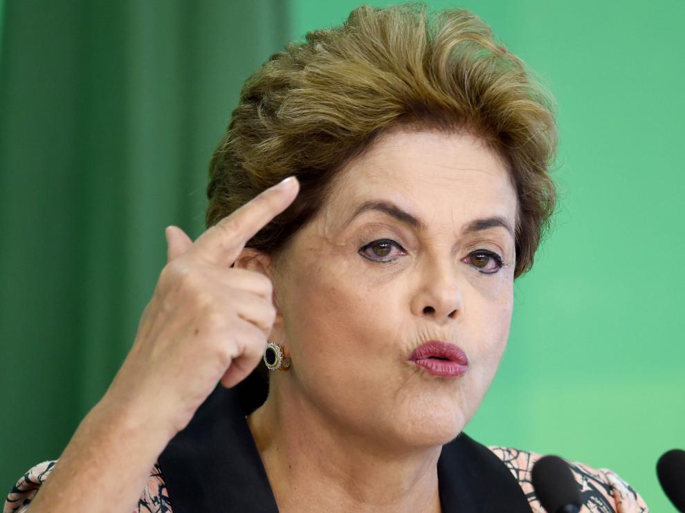La presidenta de Brasil, Dilma Rousseff, en una imagen de archivo.