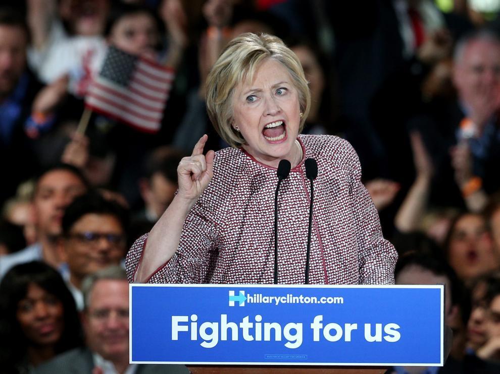 La victoria de Clinton fue tan reñida como preveían las encuestas .
