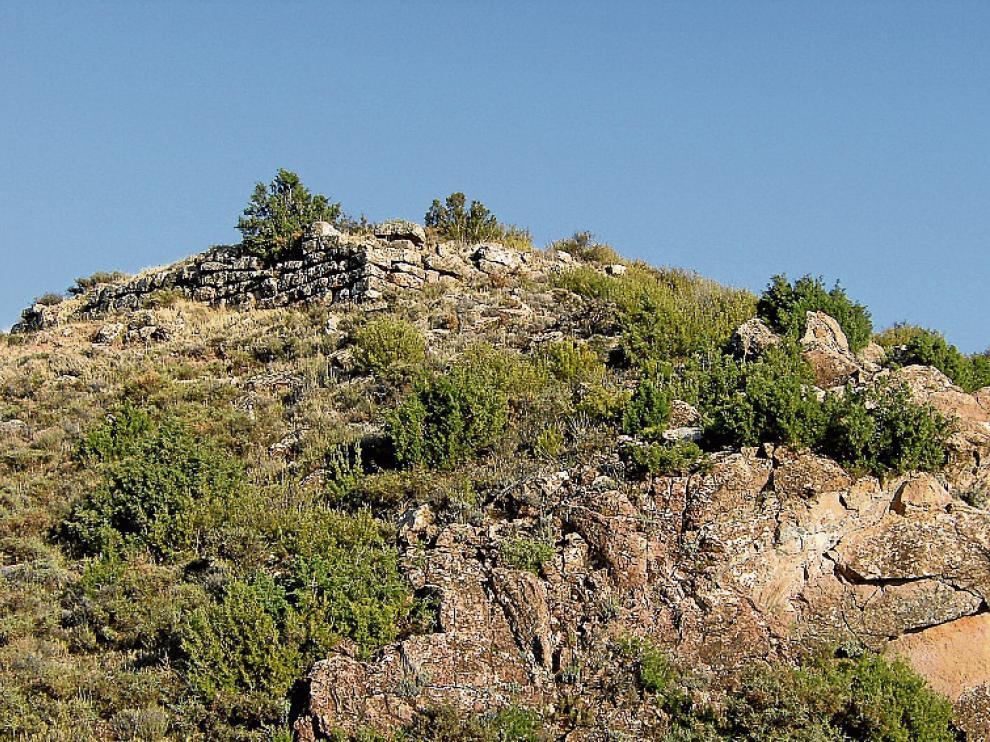 Vista general de parte del yacimiento de Aratikos.