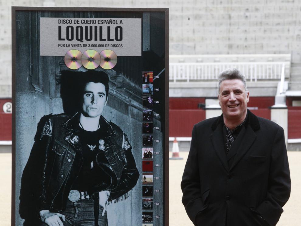Loquillo ha presentado su nuevo disco 'Viento del este' en Las Ventas.