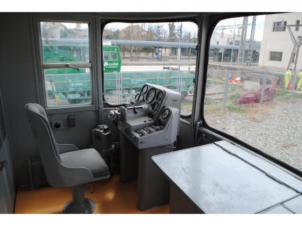 Interior del tren TER rehabilitado.