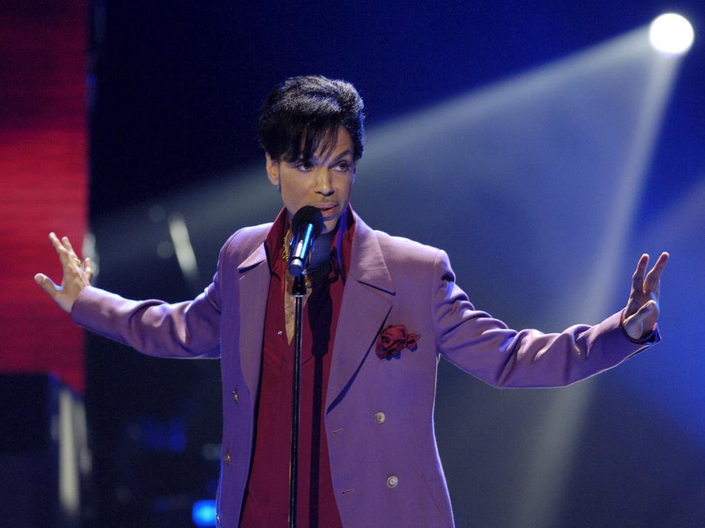 Prince, en un actuación televisiva en 2006.