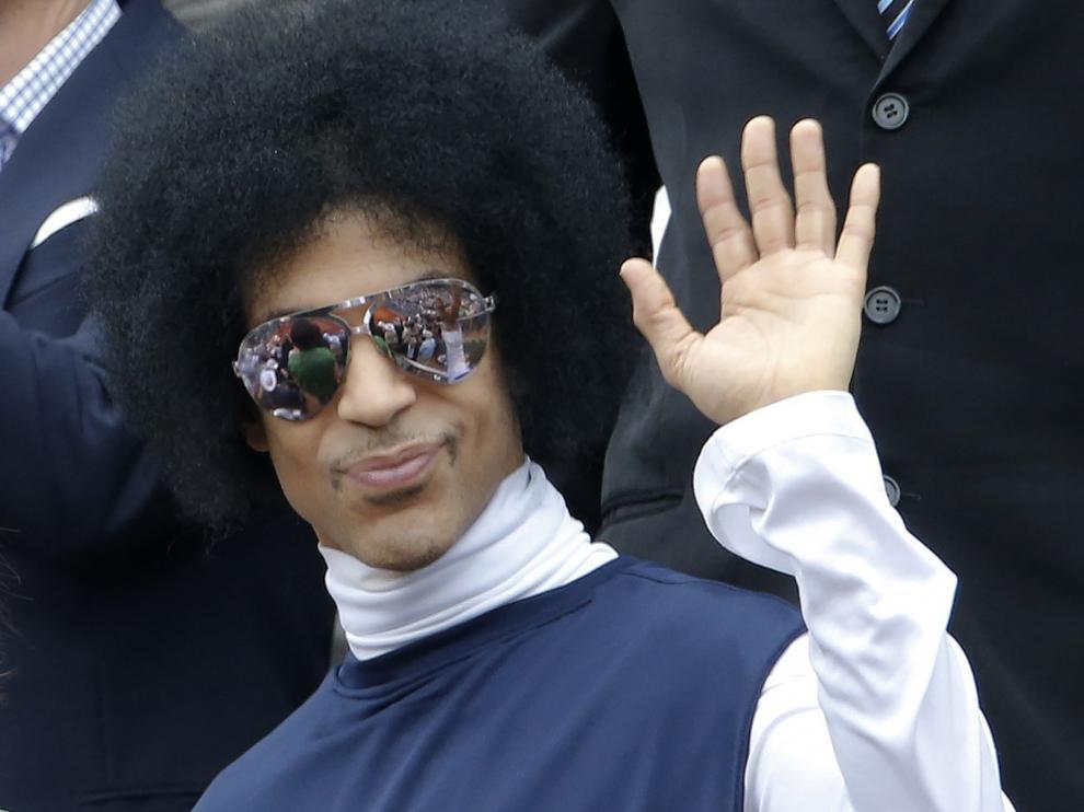 Prince, en París en 2014.
