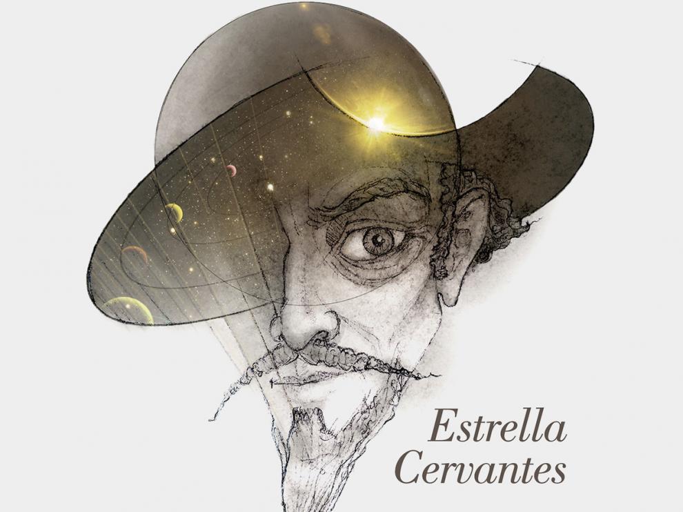 Imagen de la candidatura Estrella Cervantes en el concurso Name Exo Worlds para renombrar el sistema planetario Arae.