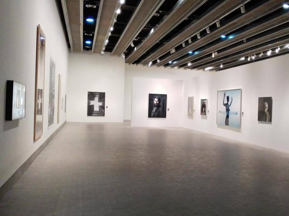 Imágenes de la exposición 'Fotografía en la Colección Circa XX. Tradición y Renovación', en el IAACC Pablo Serrano.