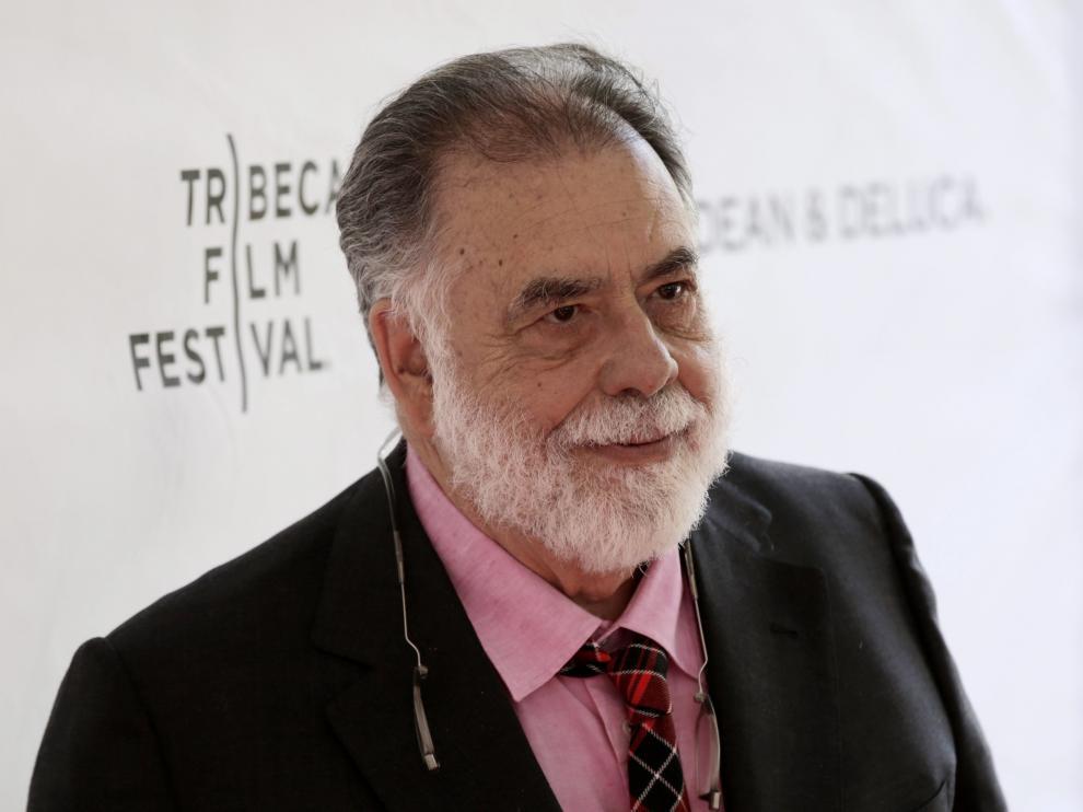 El director de cine estadounidense Francis Ford Coppola asiste al encuentro Tribeca Talks Storytellers